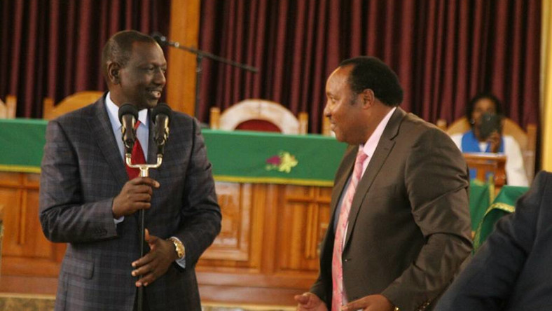 Image result for ruto and waititu
