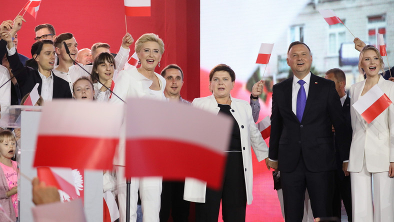 Andrzej Duda, Agata Kornhauser-Duda, Kinga Duda