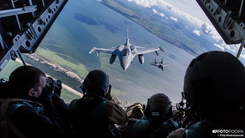 100-Lecie Lotnictwa Wojskowego - Backstage Air-to-Air