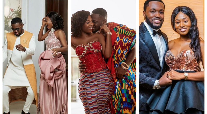 Despite's son: Here are the beautiful dresses Tracy wore for the  millionaire themed  wedding