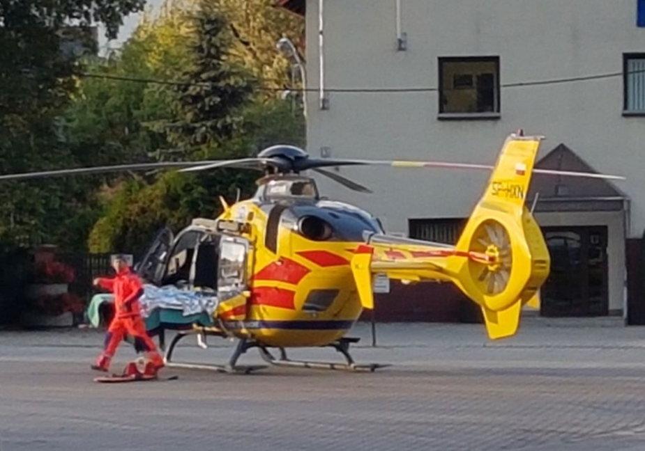 helikopter baza