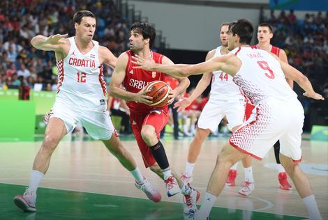 Duel košarkaša Srbije i Hrvatske na Olimpijskim igrama u Riju