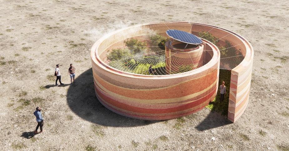Polacy zaprojektowali Źródło na pustyni w USA i zwyciężyli w konkursie