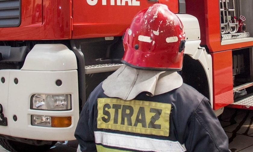 Wypadek w zakładach chemicznych w Policach