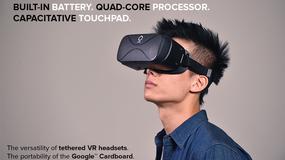 Razergon VR - bezprzewodowe gogle VR
