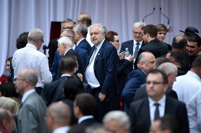 Prezes TK witał papieża w Krakowie