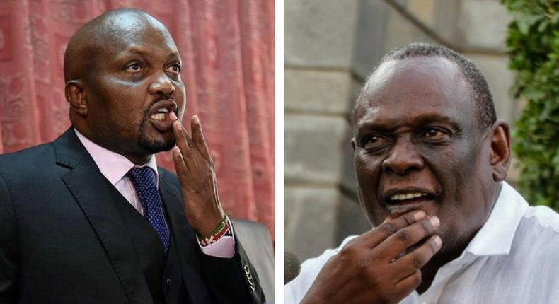 Moses Kuria, David Murathe in ugly clash on Kameme TV show