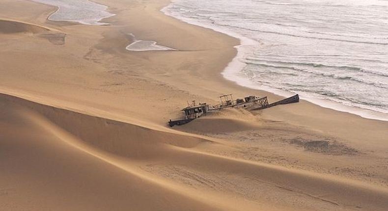 The  2020 celebrity challenge dubbed #TheHeatIsOn is taking place at Namibia's skeleton coast. (Tripsavvy)