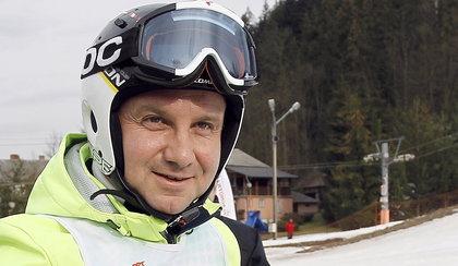 Andrzej Duda znalazł sposób na narty! Będzie szusować kilka godzin bez przerwy, nie będą mogli się przyczepić