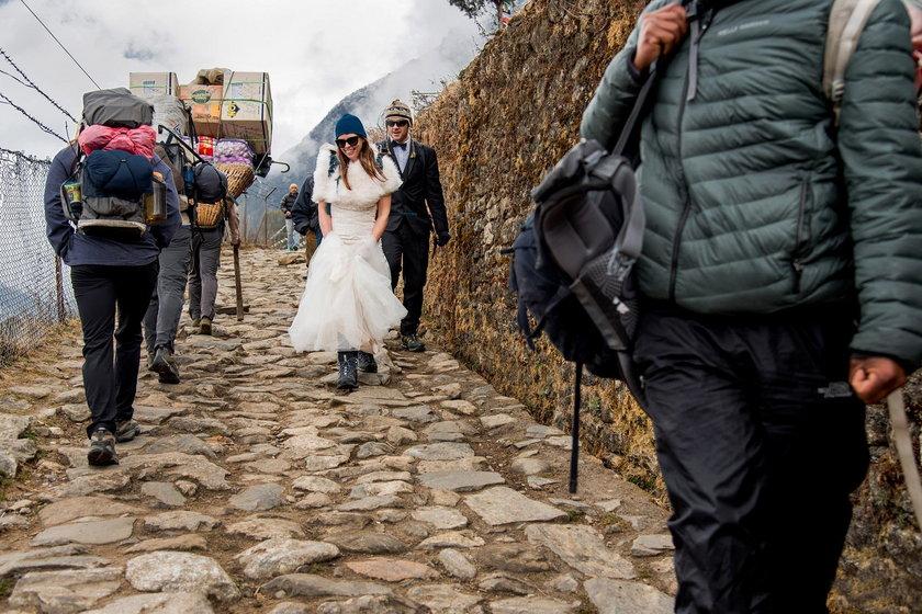 Ślub na Evereście