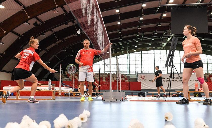 Badminton, zgrupowanie, COS Spała
