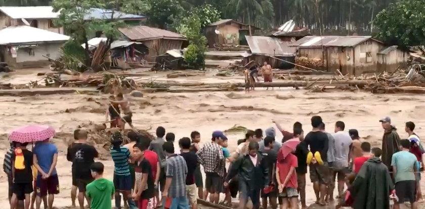 Tragiczny bilans burzy tropikalnej na Filipinach