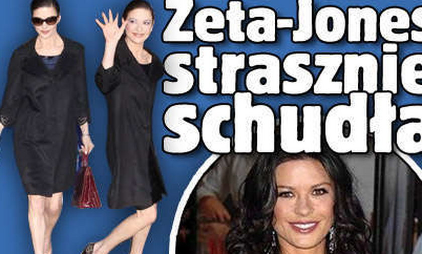 Zeta-Jones strasznie schudła