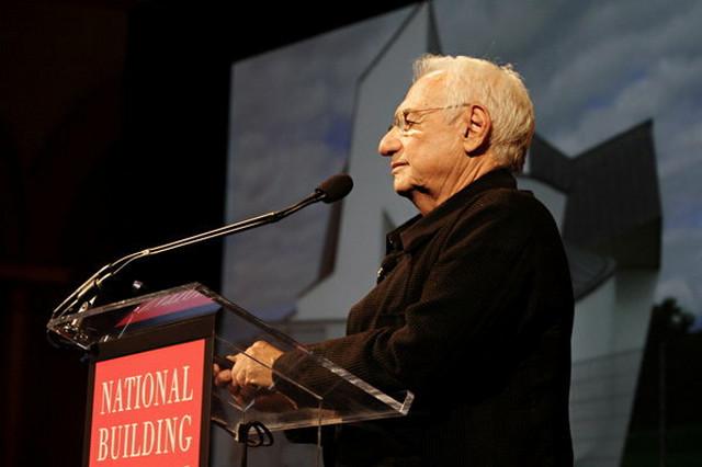 Frenk Geri, arhitekta