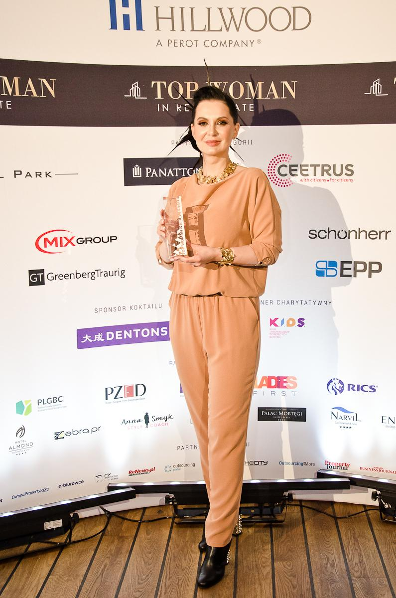 Sandra Wróblewska – laureatka Top Woman in Real Estate w kategorii Business development