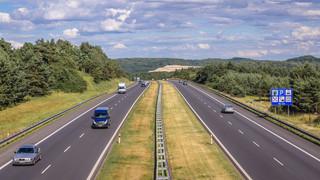 Rozbudowa autostrady A4 droga jak lotnisko w Baranowie