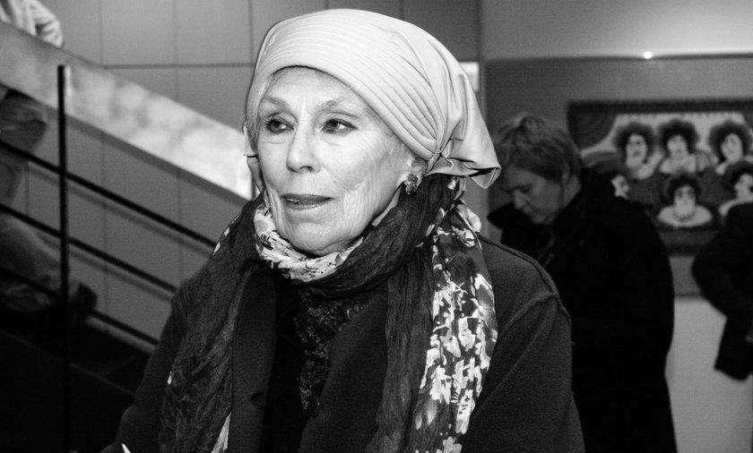 Nie żyje aktorka Halina Słojewska- Kołodziej. Była działaczką opozycji