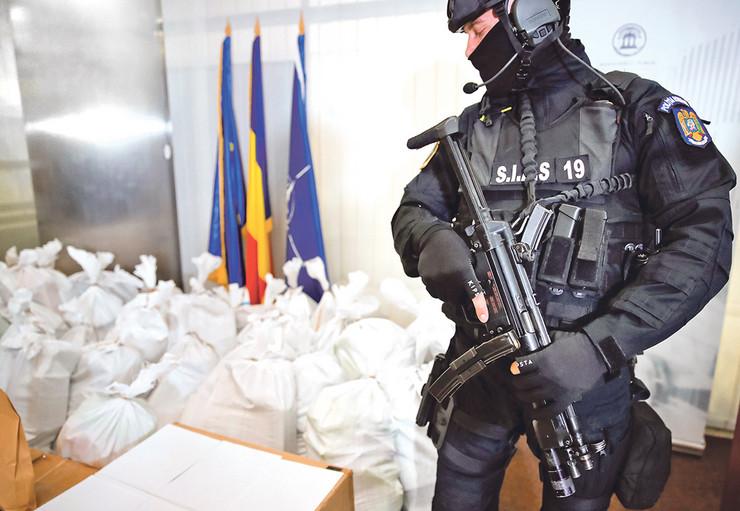 kokain Rumunija