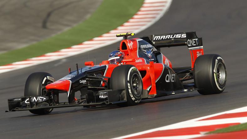 Bolid teamu Marussia