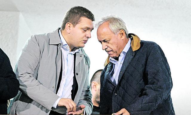 Miloš Vazura i Milorad Vučelić