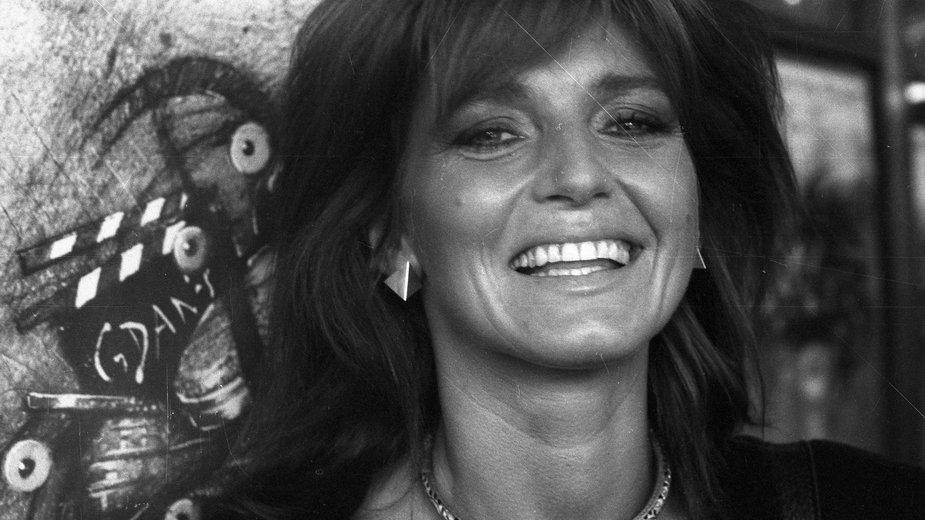 Ewa Sałacka w 1987 r.