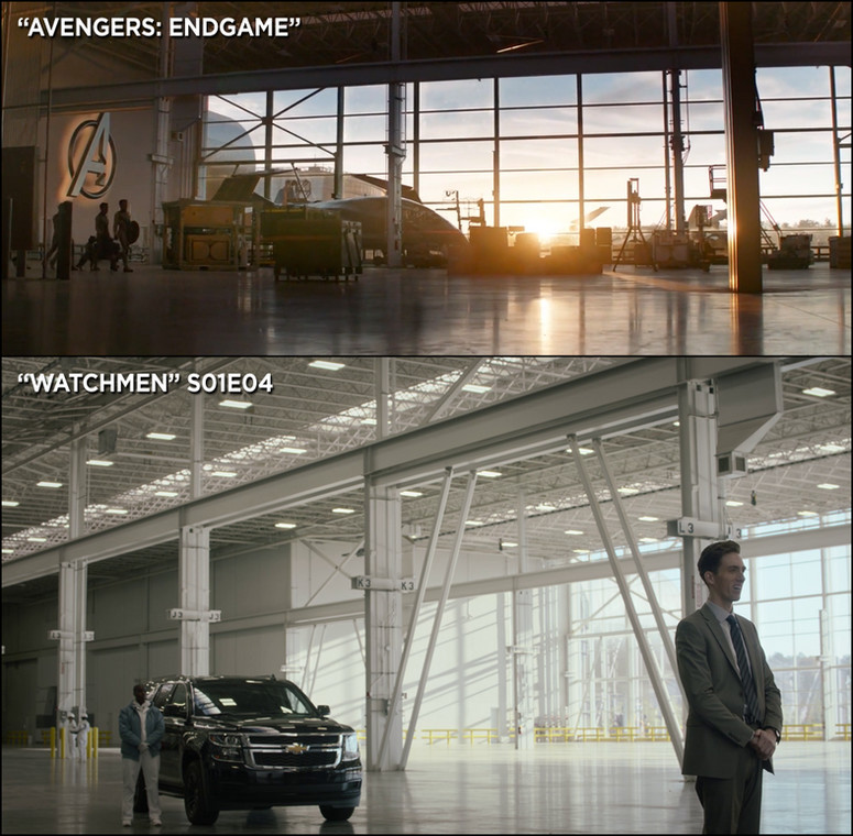 avengers endgame watchmen same set location