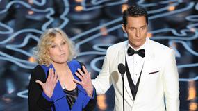Kim Novak i Matthew McConaughey na gali wręczenia Oscarów
