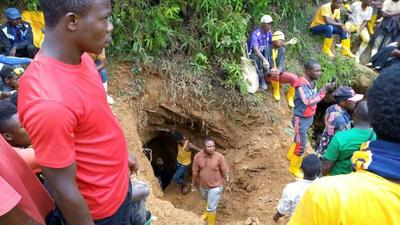 DRC illegal mining the dangerous first link in gold supply chain