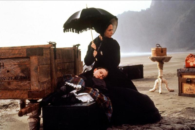 """Fortepian"", reż. Jane Campion, 1993"