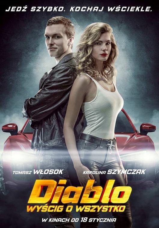 """Plakat do filmu """"Diablo. Wyścig o wszystko"""""""