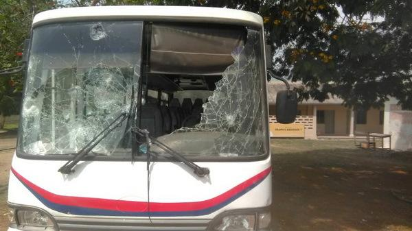 Damaged SRC bus
