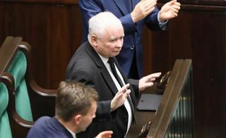 Jarosław Kaczyński skomentował głosowanie w sprawie KRS