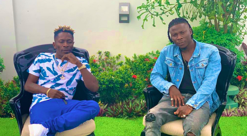 Stonebwoy says beefing with Shatta Wale comes naturally so it will happen again (Watch)