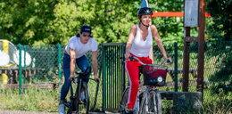 Agnieszka Włodarczyk na rowerowej randce z mistrzem