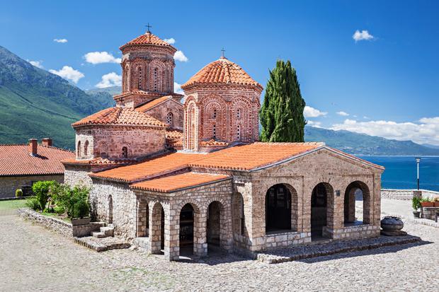 Klasztor św. Nauma, Macedonia