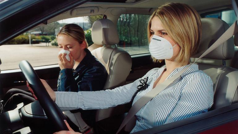 Alergik za kółkiem - na drodze jest niemal tak niebezpieczny jak pijany