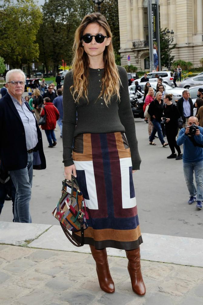 Na Nedelji mode u Parizu, prošle jeseni