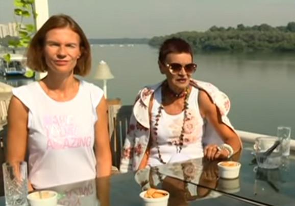 Ruška Jakić  sa ćerkom
