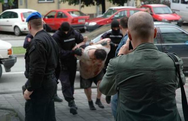 Hapšenje Mladena Ogulinca