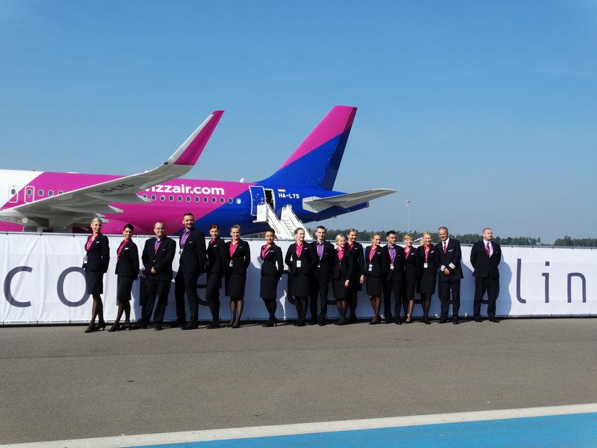 WizzAir ogłosił nowe trasy z Warszawy i Poznania