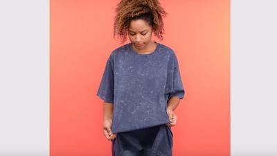 Easy DIY  to turn an old t-shirt into a cool kimono (Photos)