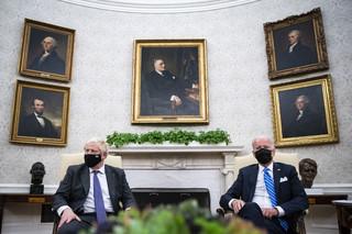 Biden i Johnson rozmawiali o AUKUS, Afganistanie, klimacie, pandemii i wolnym handlu