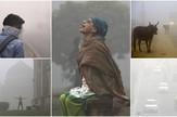 Zagađenje Nju Delhi, Indija, kombo
