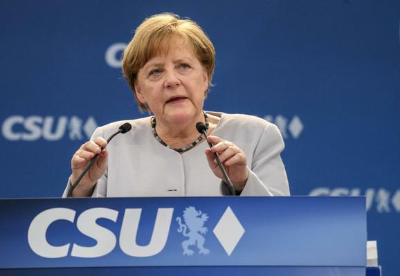 Angela Merkel na skupu u Minhenu