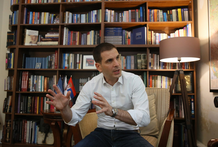 Miloš Jovanović predsednik DSS