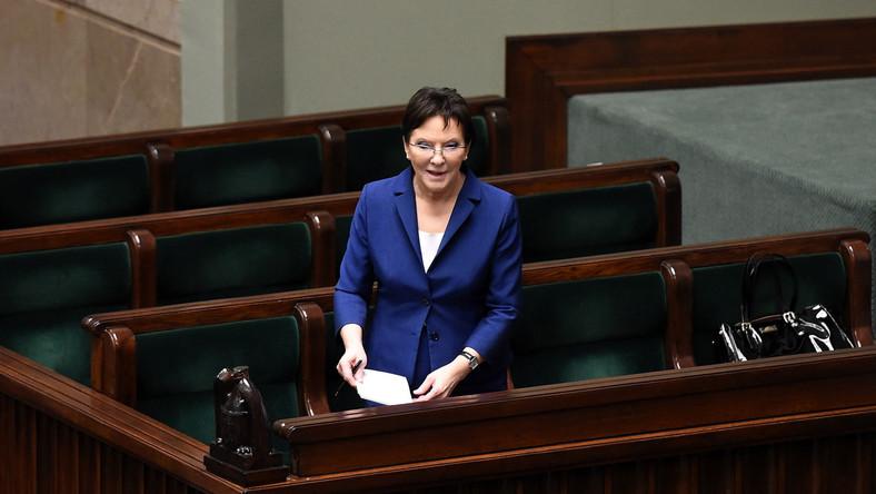 Ekonomiści czują niedosyt po expose premier Kopacz