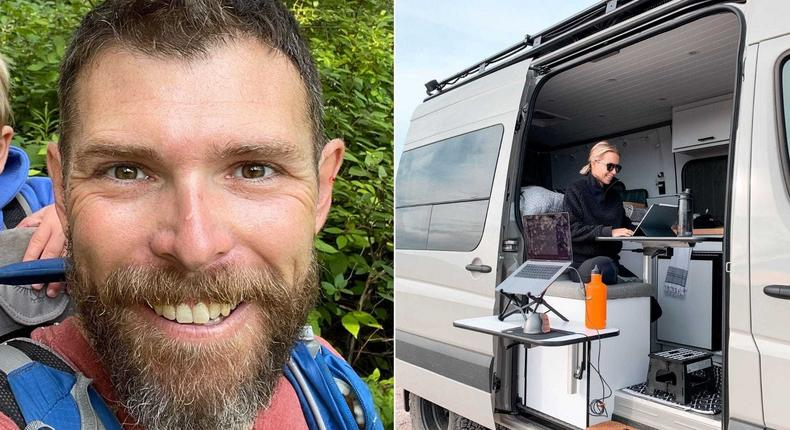 Dave Walsh founded Vanlife Customs in 2016.