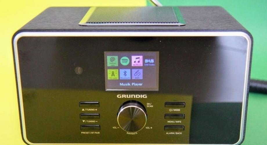 Test Grundig DTR 6000: DAB+, WLAN & Bluetooth für 135 Euro