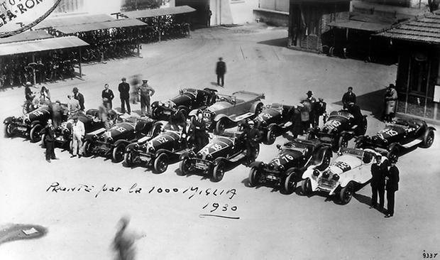 "Rajd ""Mille Miglia"" 1930"
