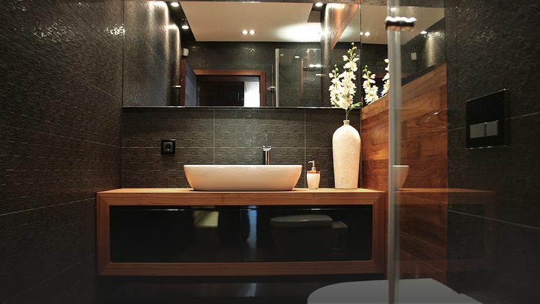 Mała łazienka Dom